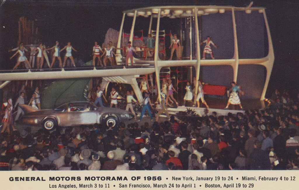 General Motors Motorama Of 1956