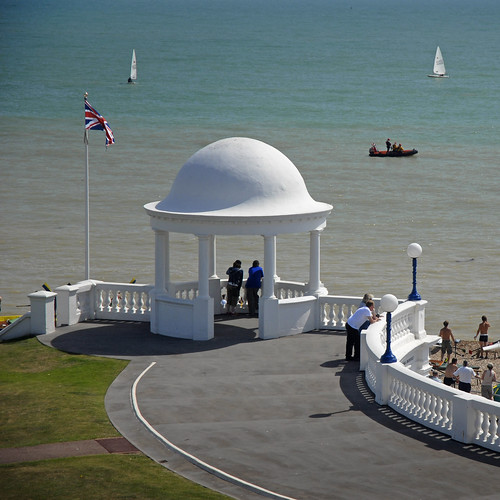 UK - Bexhill on Sea - Seafront sq | by Darrell Godliman