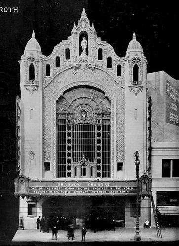 The Granada Theatre San Francisco just prior to it's Grand Opening on 17th November 1921 | by CharmaineZoe's Marvelous Melange