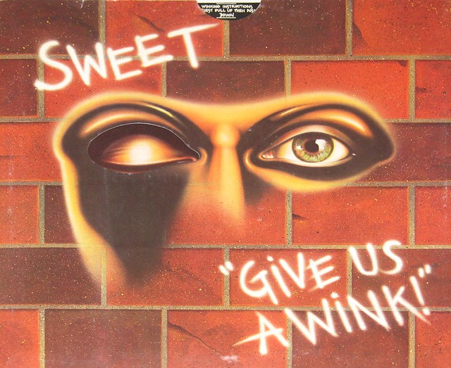 Sweet Give us a Wink / Wank Gimmick Cover England