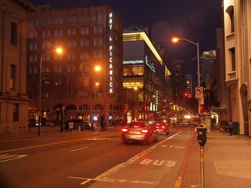 San Francisco by Night: Mission Street | by Franco Folini