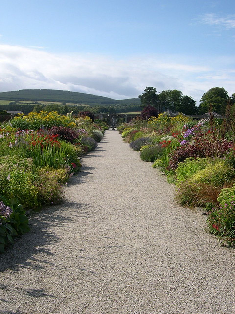 Perennial Borders Deep Borders Overflowing With Lush