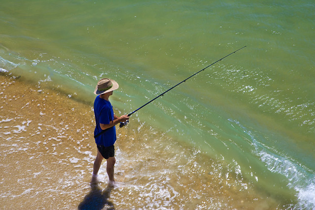 Surf fishing on hatteras island outer banks surf or for Nc surf fishing report