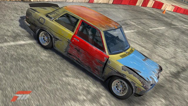 Datsun Hoodride Drift Car In Forza This Is My New O Flickr