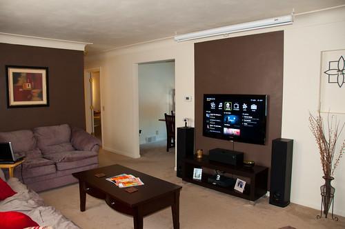 Living Room Led Tv Wall Unit Designs