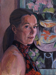 Anne, oil on canvas 10 x 12' | by urns photos