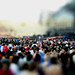 Tilt shift effect - concert