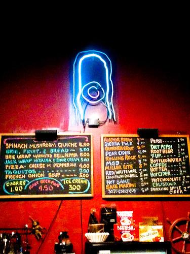 Exit  Cafe Clarkston Menu
