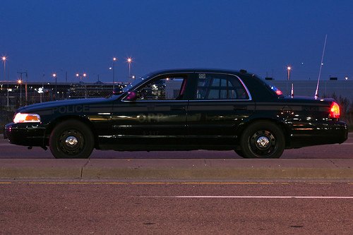 Ford Car Black >> OPP stealth Crown Vic | Seen at Mavis Rd and on ramp 401 Eas… | Flickr