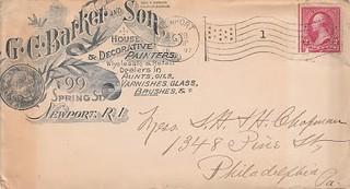 Barker, R. R. 1897-Dog postal cover