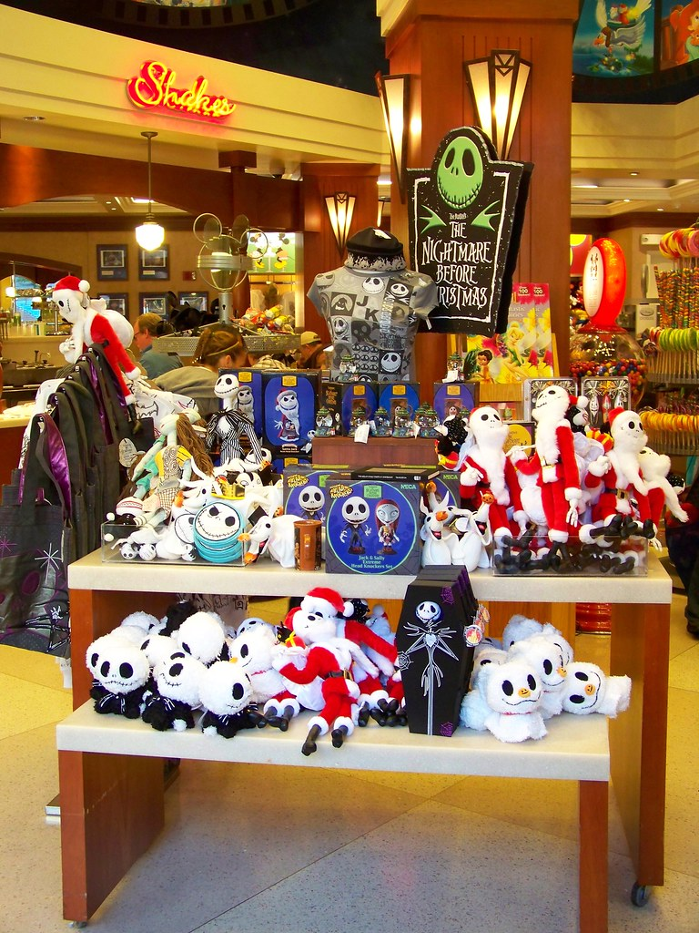 Nightmare Before Christmas merchandise at Disney's Soda Fo… | Flickr