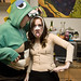 plastic surgery patient and a dino