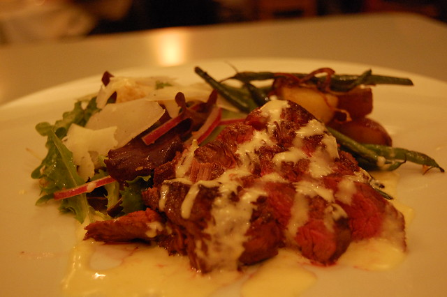 hanger steak salad | Flickr - Photo Sharing!