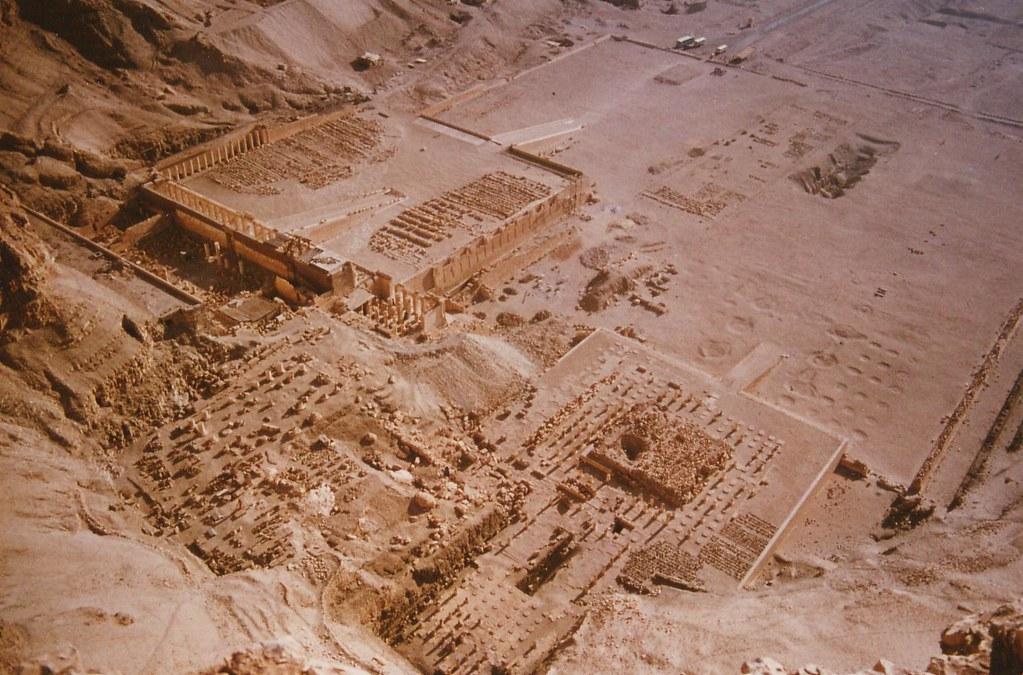 Deir El Bahari, Egypt