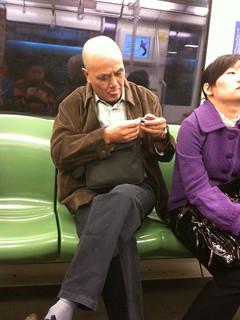 Man clipping fingernails on metro (part 1) | by sushi_panda