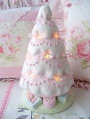 Vintage Re Do Shabby Pink Tree | by sweetnshabbyroses