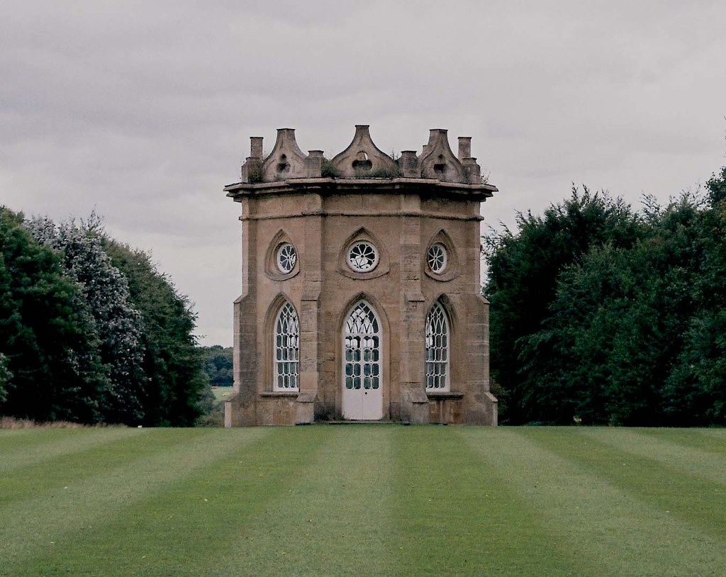 bramham park gothic temple grade i listed building on