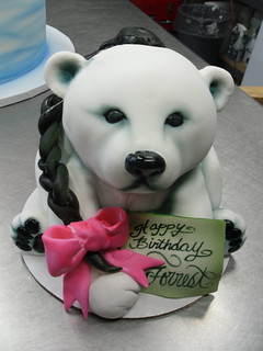 Polar Bear Cake | by Karen Portaleo