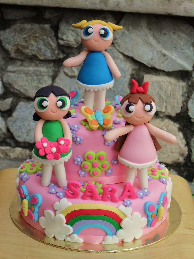 powerpuff girls cake power puff phooi fong lai flickr 6741
