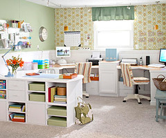Craft Room | by It's Great To Be Home