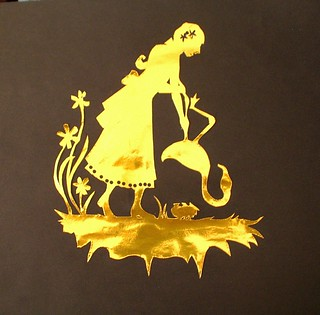 foil silhouette | by sunshine's creations