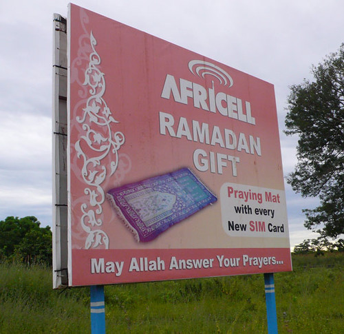 Get Free Credit Report >> Buy Africell phone credit and get a free prayer mat for Ra ...