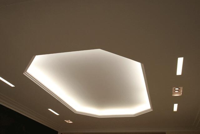 Peinture blanche mur et plafond monocouche for Faux plafond gyptone
