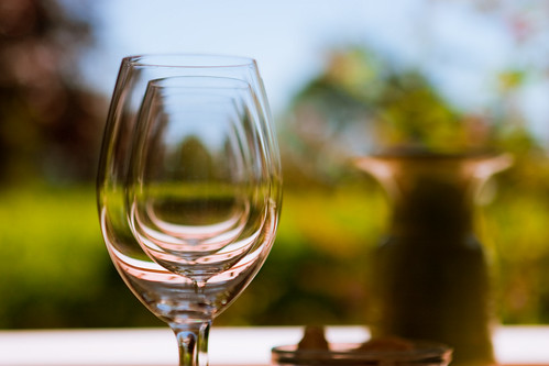 Wine Glass Glass Glass | by Joel Van Horn