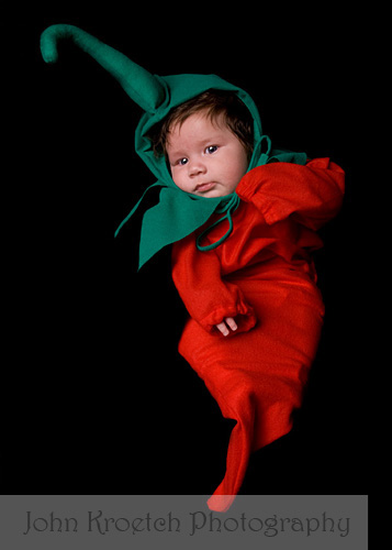 ... Chili Pepper Baby | by John Kroetch Photography  sc 1 st  Flickr & Chili Pepper Baby | A baby with lots of hair dressed up as au2026 | Flickr