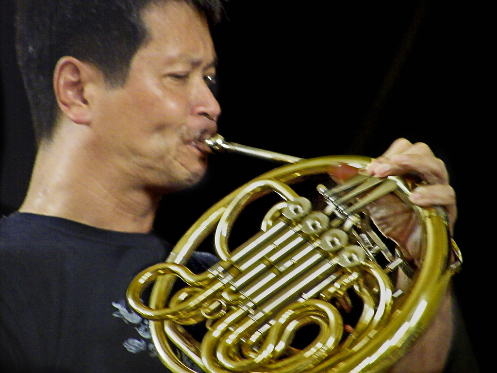Japanese French Horn Player | Japanese soloist rehearsing ...