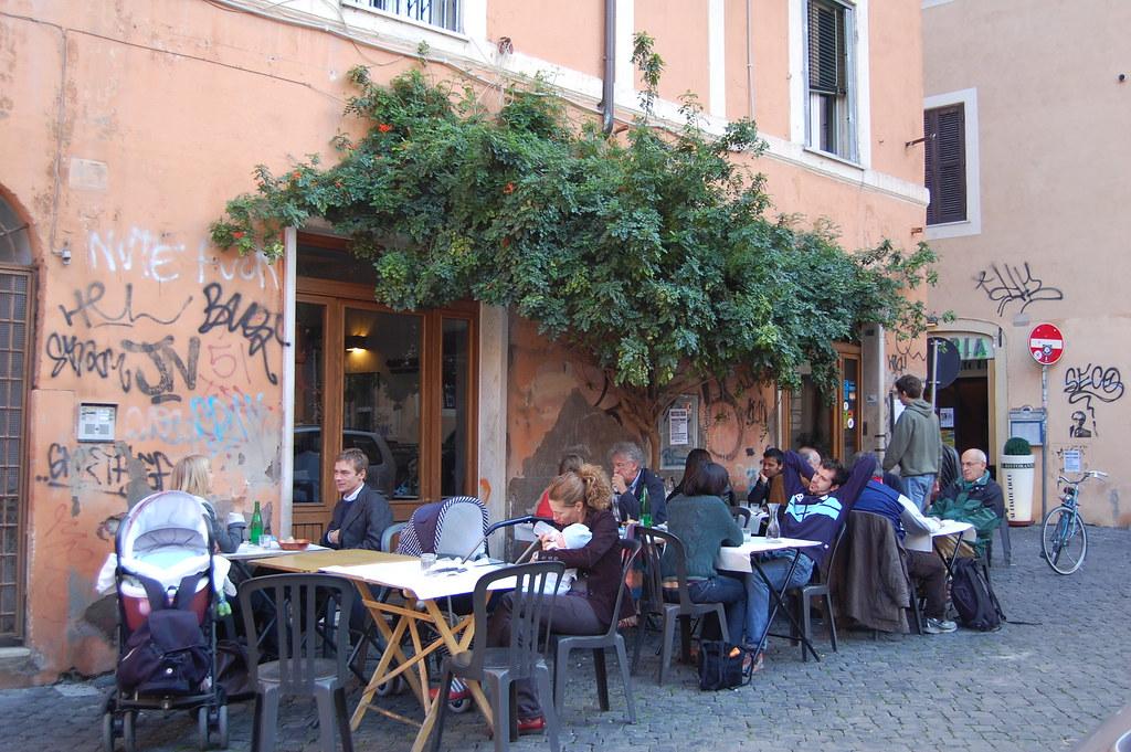 Restaurant Rome Trastevere Michelin