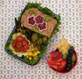 """fit for life"" bento 