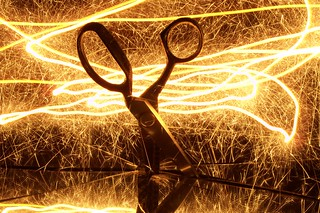 Painting scissors with light 1 | by sociotard