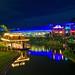 Walt Disney World - Magic Kingdom - Swan Boat Landing & Tomorrowland Terrace