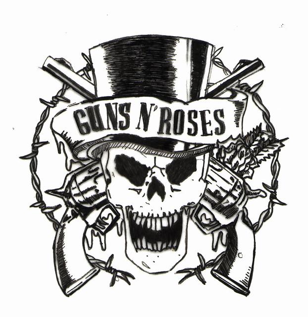 N.e.r.d Band Logo guns'n'...
