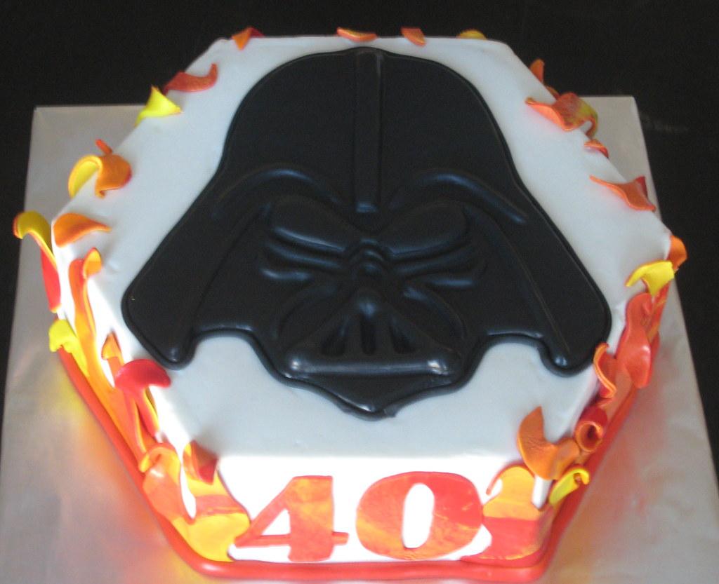 Darth Vader Birthday Cake Sweet Dolly Flickr