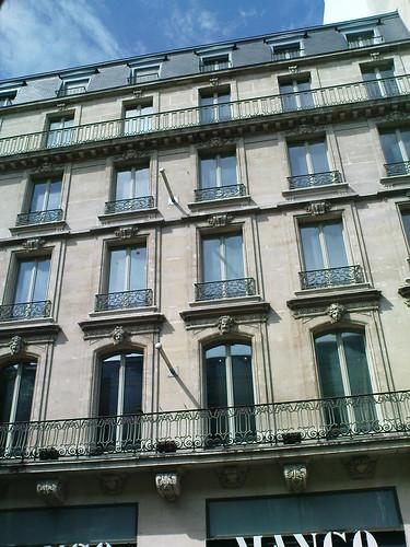 mango boulevard haussmann paris after leaving the gare d flickr. Black Bedroom Furniture Sets. Home Design Ideas