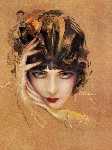 Vintage Paintings Of Women Rolf Armstrong ...