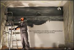 Jerom working by Juan Juanatey