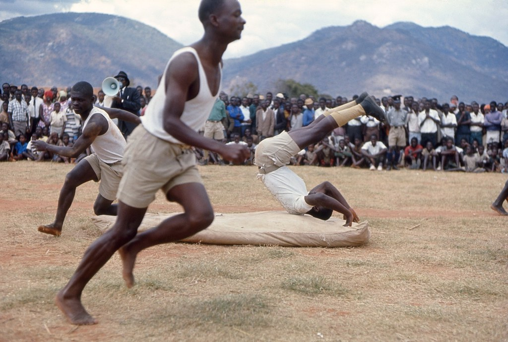 Malawi Young Pioneer Gymnastics Demonstration July 1968 Flickr