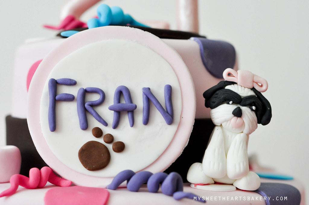 Dog Theme 21st Birthday Cake Mysweetheartsbakery Flickr