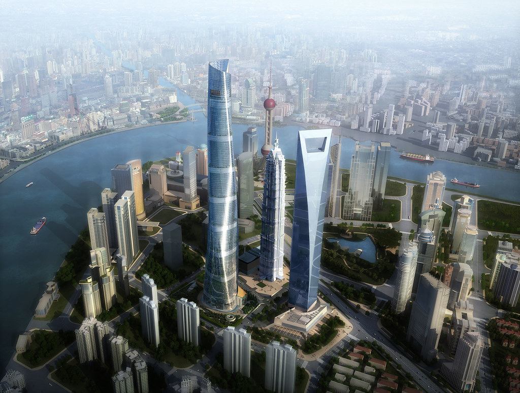 Image result for Shanghai World Financial Centre, China - 1,614 Feet