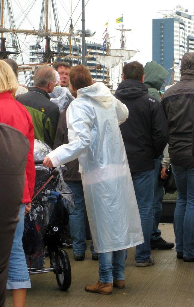 Plastik Regenmantel Nordsee2011 Flickr