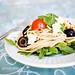 spaghetti salad.