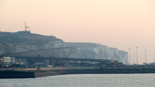 Early morning walk along Dover Prom
