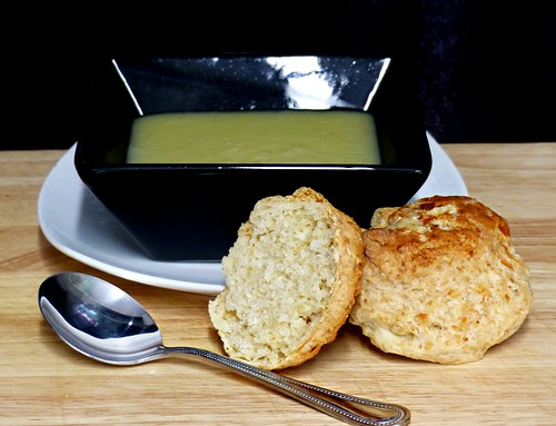 """Week 7 - 2017 """"Soup and Cheese Scones"""""""