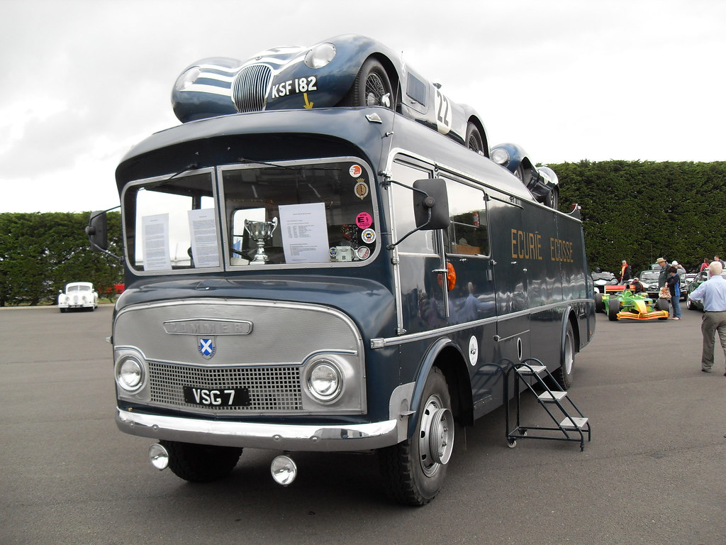 Commer Ecurie Ecosse Transporter This Famous Vehicle Was