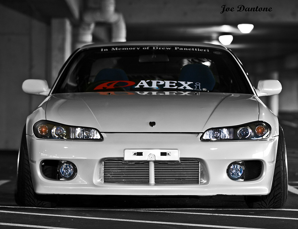 nissan s15 silvia front end stance hella flush 580ex ll mo flickr