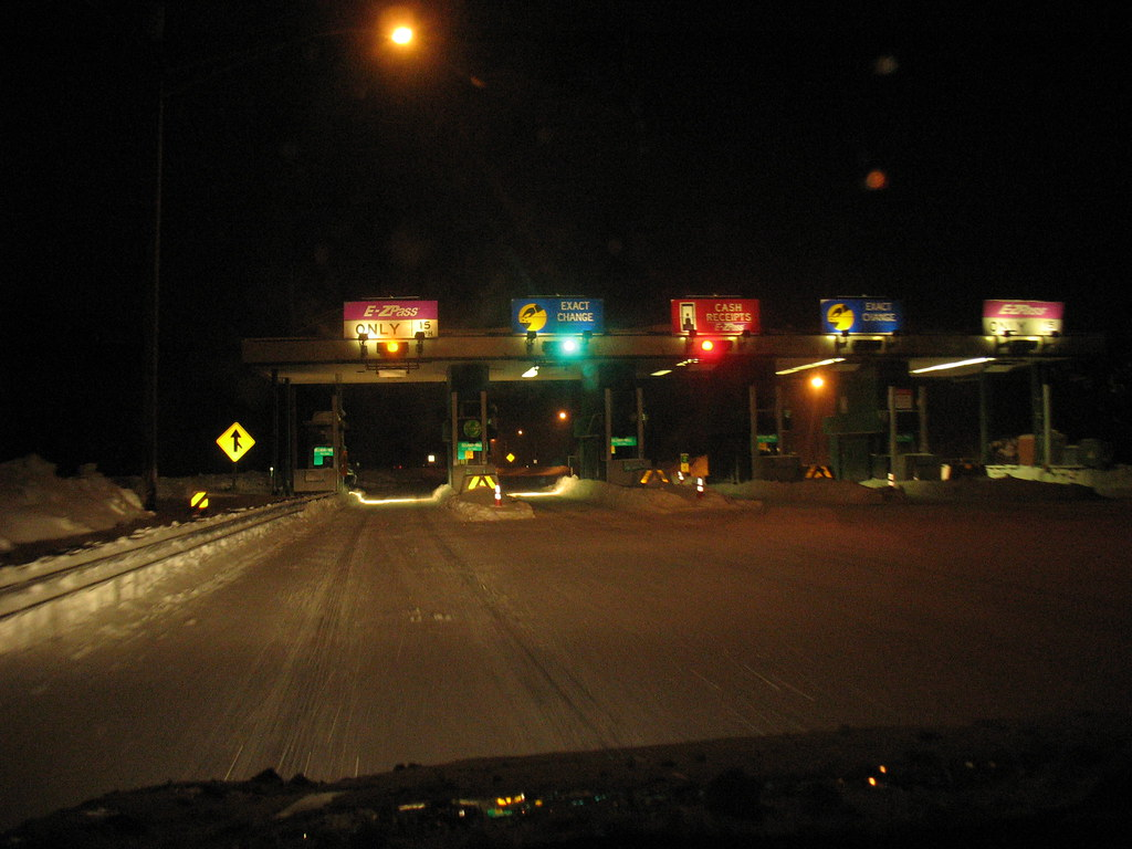 Garden State Parkway Toll Plaza Had To Drive From Middlet Flickr