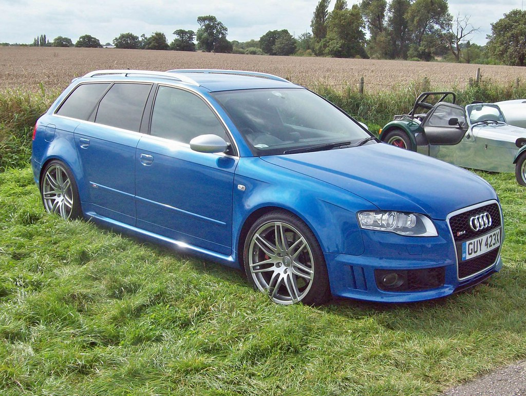 6 Audi B7 RS4 Avant (2006-08)   Audi B7 RS4 (2006-07 ...
